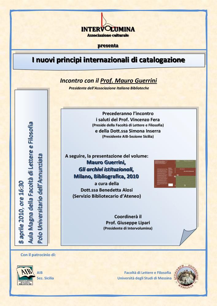 Principi di catalogazione internazionale